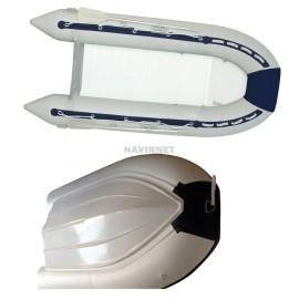 Embarcación neumática de casco rígido – 430 cm de largo